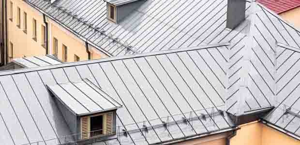 Metal roof mobile header
