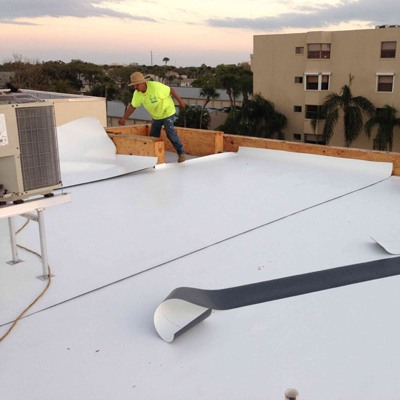 Commercial Flat Roof 6